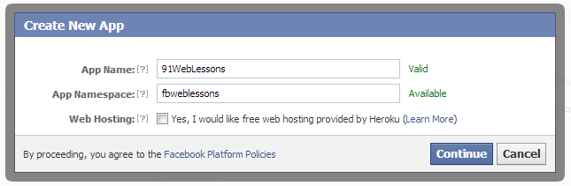 How To Create Facebook App with PHP