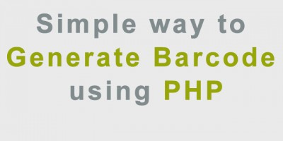 Simple-way-to-generate-Barcode-using-php