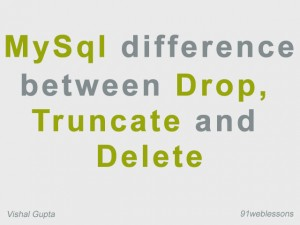 MySql-difference-between-Drop,-Truncate-and-Delete
